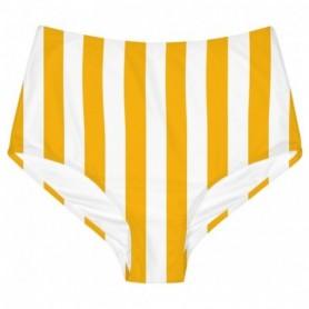 Delicated Bikini Pants Slite Big Stripes